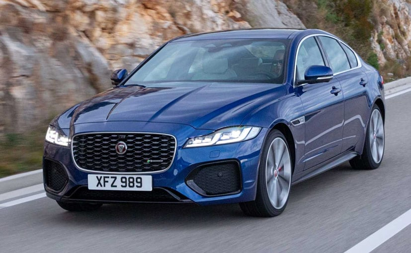 The 2021 Jaguar XF is expected to go on sale in India next year.