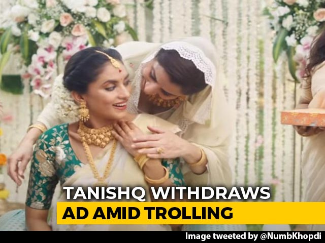 Video : Tanishq Ad Reportedly Pulled Amid Trolling; Boycott Call Divides Internet