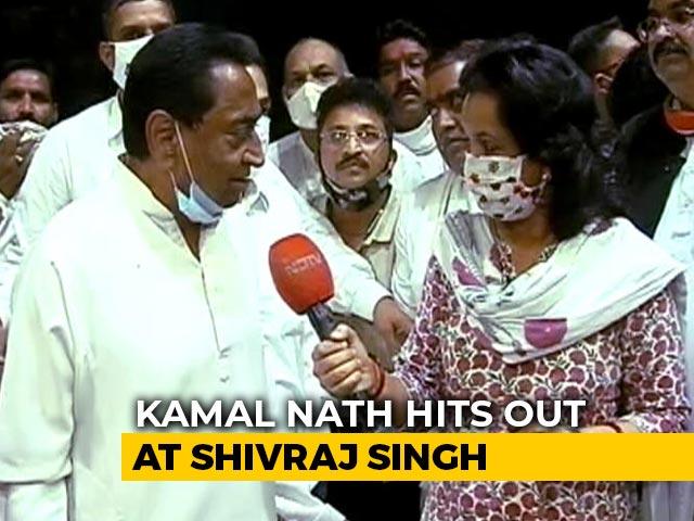 """Video : """"Gaddari"""" Is Word Of The Week As Kamal Nath Duels BJP In Madhya Pradesh"""