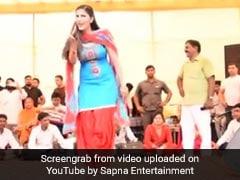 Sapna Choudhary ने स्टेज पर डांस से फिर किया धमाका, देसी क्वीन का Video हुआ वायरल