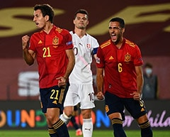 Nations League: Spain Edge Switzerland, Germany Beat Ukraine