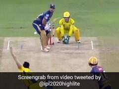 IPL 2020: नितीश राणा ने जड़े लगातार तीन छक्के, फिर MS Dhoni पहुंचे गेंदबाज के पास और फिर... देखें Video