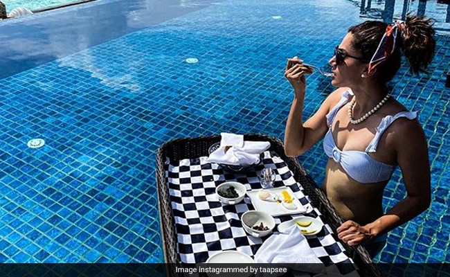 Taapsee Pannu, Holidaying In The Maldives, Is On A 'Shredding Diet'