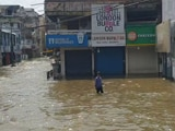 Video : Hyderabad Battered By Heavy Rain; Flooding In Several Areas