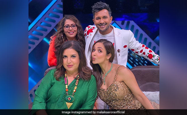 When Malaika Arora, Geeta Kapur And Terence Lewis Were 'Blessed With' One Helluva Meal By Farah Khan