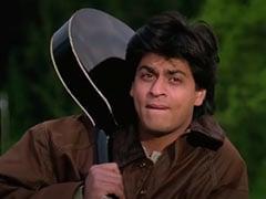 "25 Years After <I>DDLJ</i>, Shah Rukh Khan And Kajol Recreate The ""<I>Palat</I>"" Scene On Twitter"