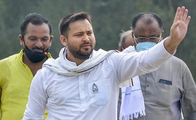 Lalu Yadav Out On Nov 9, Nitish Kumar's Farewell Next Day: Tejashwi Yadav