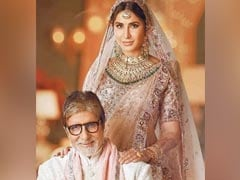 Amitabh Bachchan Offers ROFL Description For This Throwback Pic With Katrina Kaif