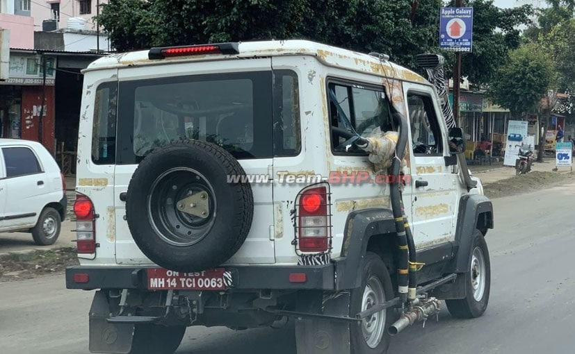 The pre-production prototype model of the BS6 Force Gurkha was shown at the Auto Expo 2020