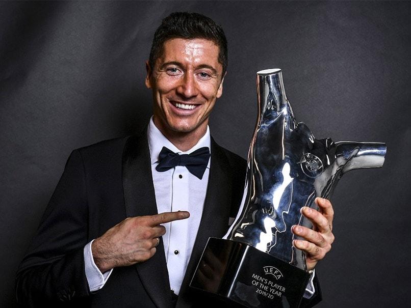 Robert Lewandowski Named UEFA Mens Player Of The Year