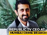 Video : Republic TV Chief Executive Being Questioned In Rigged Ratings Case