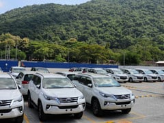 Toyota Launches Its First Regional Stockyard In India