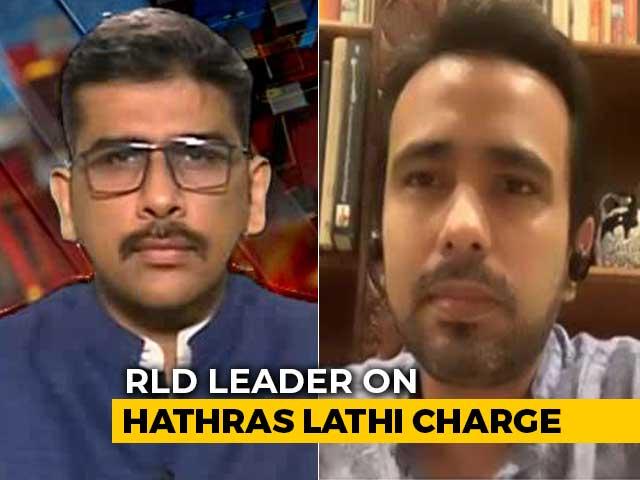 "Video : ""Still Shocked And Traumatised"": Rashtriya Lok Dal Leader On Hathras Lathi Charge"