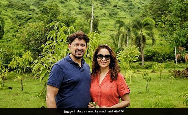 What Madhuri Dixit And Sriram Nene Posted After Anniversary Celebrations