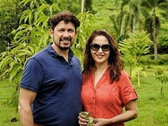 What Madhuri Dixit And Sriram Nene Posted After Their Anniversary Celebrations