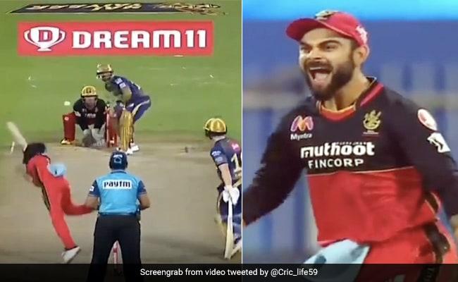 IPL 2020: युजवेंद्र चहल की नाचती गेंद पर बोल्ड हुए कार्तिक, विकेट देख विराट कोहली ने दिया ऐसा रिएक्शन - देखें Video