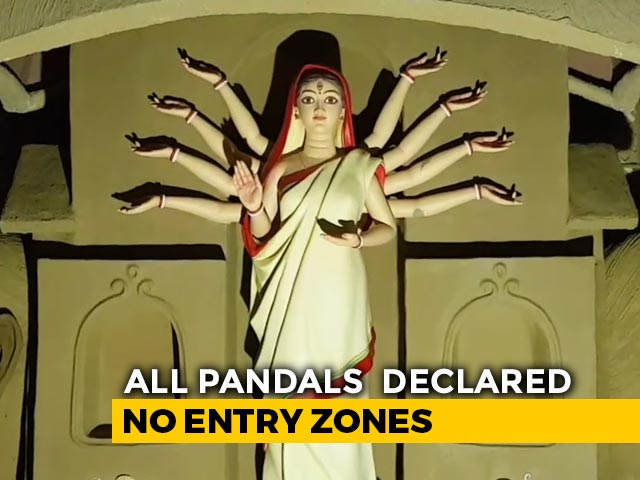 Video : Bengal Puja Pandals No-Entry Zones For Visitors: Calcutta High Court