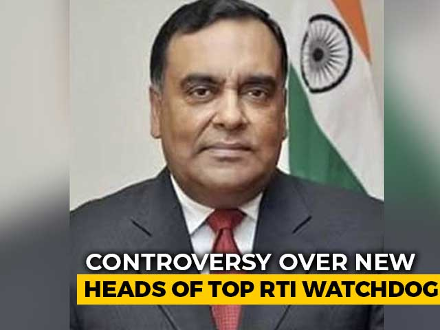 "Video : ""Skydropped"": Congress Dissents On Top RTI Watchdog Appointments"