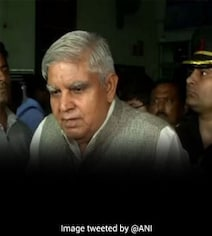 'Hurt' CPM Wants Bengal Governor To Take Down Photos With Ailing Leader