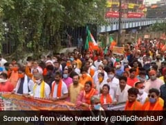 BJP Leaders Charged For Rioting Day After March To Bengal Secretariat