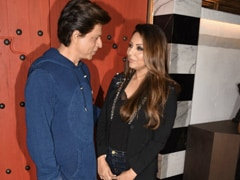 To Question On Anniversary Gift For Gauri, A Very SRK Answer
