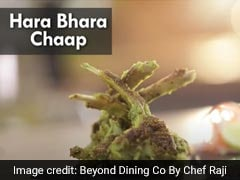 Watch: How To Make Easy <i>Hara Bhara</i> Mutton Chaap Snack For Your House Party