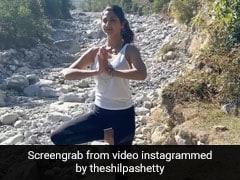 शिल्पा शेट्टी ने पहाड़ों की बीच किया योग, Video शेयर कर बोलीं- जब आपके अंदर बहुत शोर हो तो....