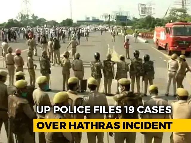 """Video : """"Deep Conspiracy In Hathras"""": UP Police Files 19 Cases Across State"""