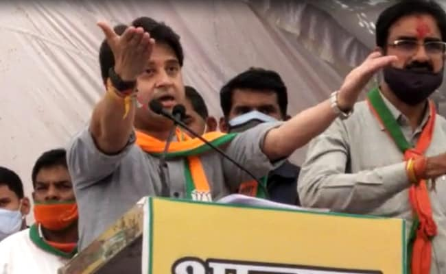 Bypolls Not About Power But Respect For Gwalior-Chambal: Jyotiraditya Scindia