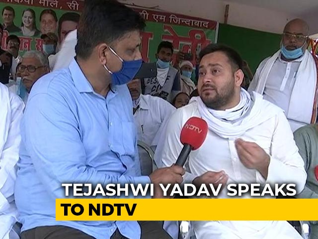 Video: 'Planned Expenditure': Tejashwi Yadav Explains Funds For 10 Lakh Jobs