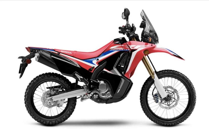 The Honda Africa Twin 250 may be based on the Honda CRF250L Rally
