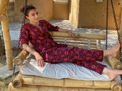 "With ""Holiday Mode On"", Soha Ali Khan Is Chilling And How"