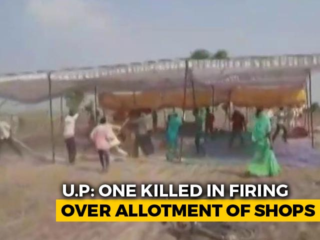 Video : UP BJP MLA's Aide Allegedly Shoots Man Dead, Officials To Be Suspended