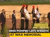 Video : Mike Pompeo Pays Tribute At National War Memorial In Delhi