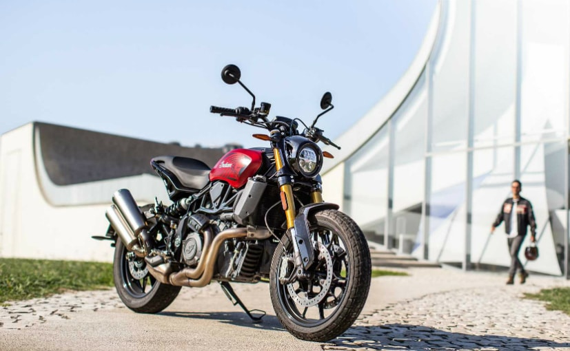 The Indian FTR 1200 Ruby Smoke edition will be launched only in France