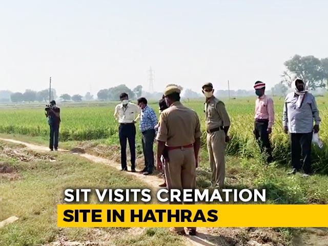 Video : Hathras Case: Special Team SIT Visits Crime Scene, Report Tomorrow