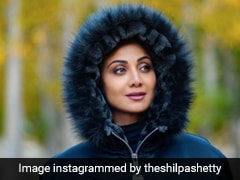 All Good In The Hood For Shilpa Shetty And Her Furry Jacket
