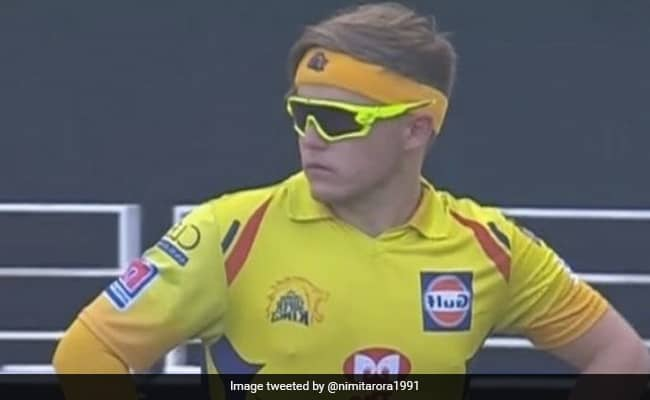 IPL 2020 Sam Currans neon sunglasses against RCB leads to a meme fest on Twitter