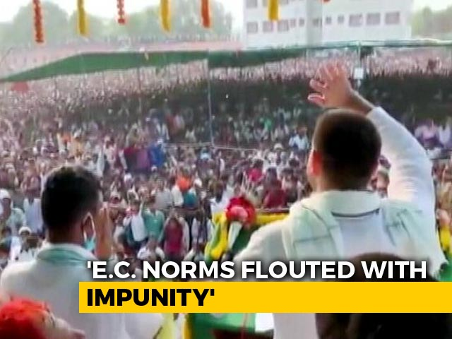 Video : Parties Flouting COVID-19 Rules With Impunity, Says Election Commission