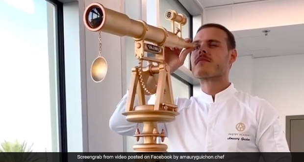 Viral Now: 5ft-Tall Telescope Made With Chocolate Looks Too Good To Eat! thumbnail
