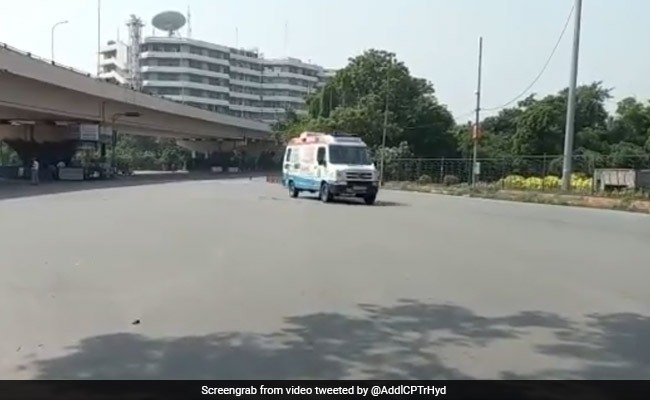 Hyderabad Traffic Cops Provide Green Channel For Transporting Live Organ