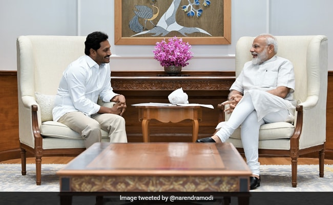 Andhra Chief Minister Jagan Mohan Reddy Meets PM Modi Over Pending State Issues: Report