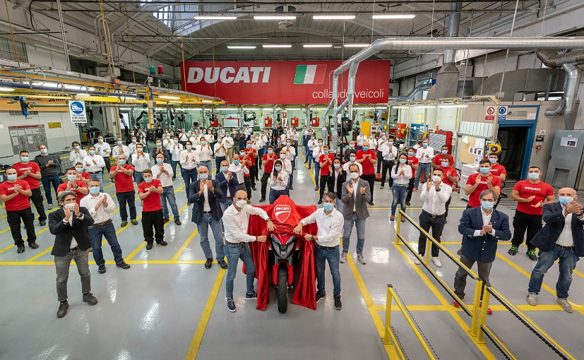 The Ducati Multistrada V4 with radar-based cruise control goes into production at Borgo Panigale