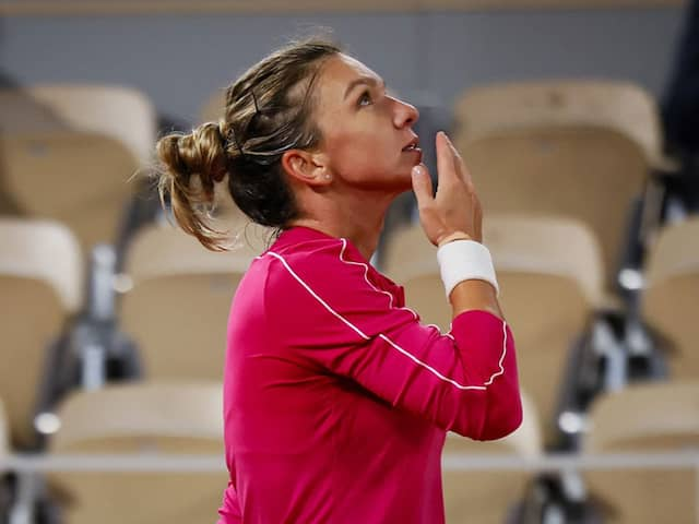 French Open 2020: Simona Halep Reaches Last-16 At Roland Garros