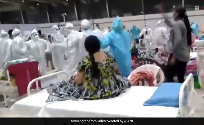 'Sign Of Happiness': Top Official On Garba Video From Mumbai Covid Centre