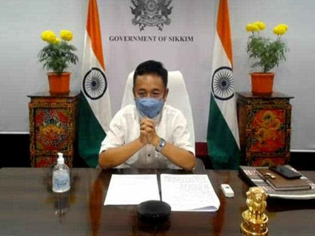 Video : Chief Minister of Sikkim Prem Singh Tamang On The State's COVID-19 Fight