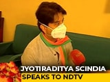 "Video : ""This Is An Election For BJP"": Jyotiraditya Scindia On Madhya Pradesh Bypolls"
