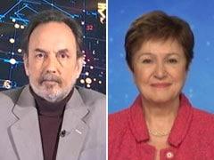 Live Updates: Prannoy Roy In Conversation With IMF Chief Kristalina Georgieva