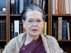 Sonia Gandhi Calls For Congress Top Body Meet To Review Poll Results