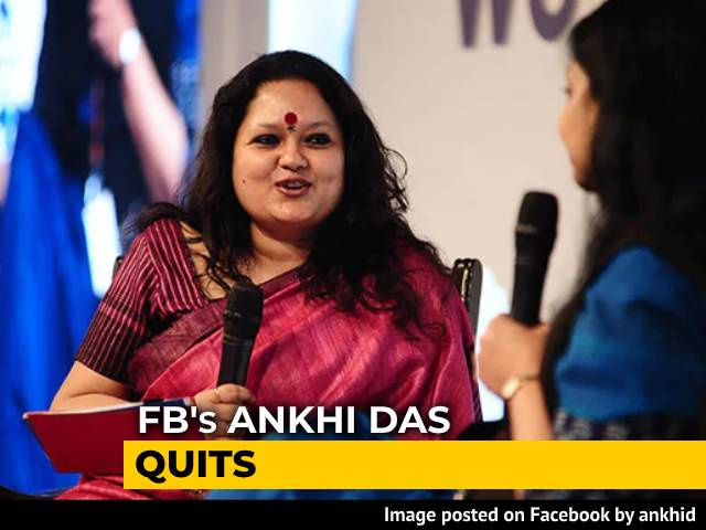 Video: Facebook's Ankhi Das Quits Days After Parliamentary Panel Questioning